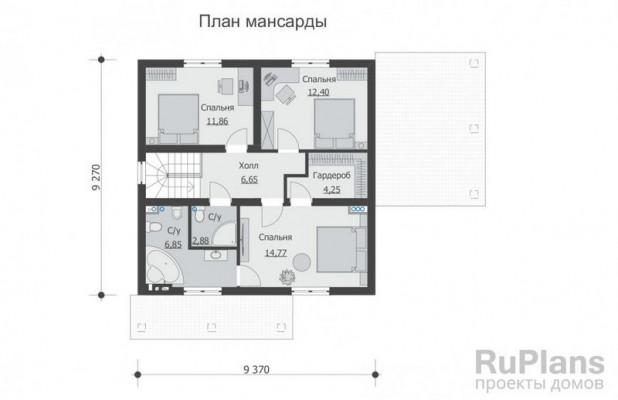 Дом 13,41 x 11,31